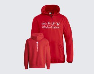 Hoodie Unisex Red